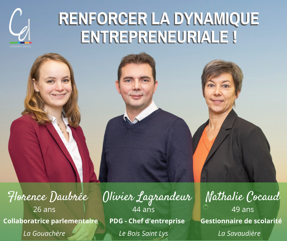 Trio Florence Daubrée - Olivier Lagrandeur - Nathalie Coqueau