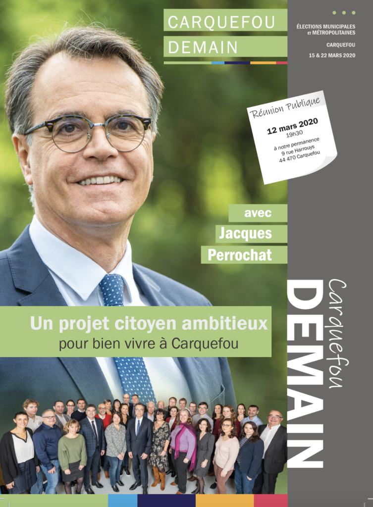 Programme Carquefou Demain : c'est parti !  100 propositions pour un projet citoyen ambitieux pour bien vivre à Carquefou