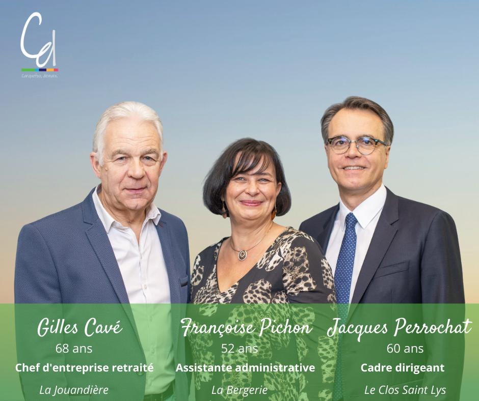 Trios Gilles Cavé - Françoise Pichon - Jacques Perrochat